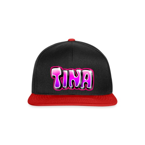 GRAFFITI TAG TINA PRINTABLE ON EVERYTHING PINK - Casquette snapback