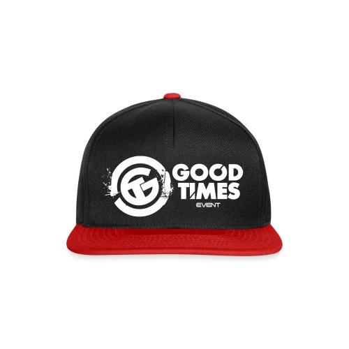 GOOD TIMES LOGO FINAL png - Snapback Cap