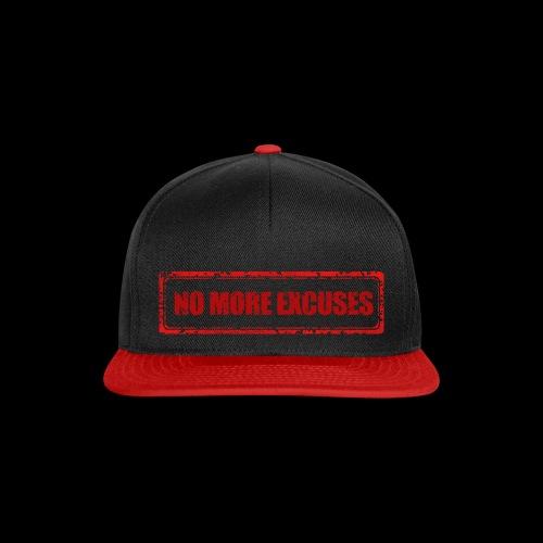 NO MORE EXCUSES - Snapback cap