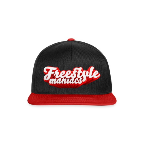 Freestyle Maniacs red - Snapback cap