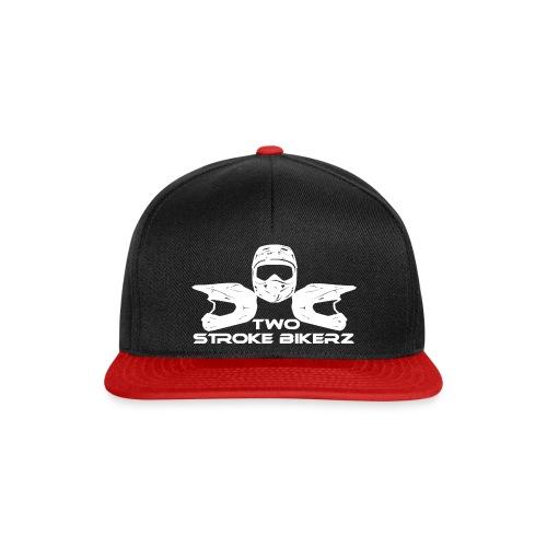 TSB Logo weiß png - Snapback Cap