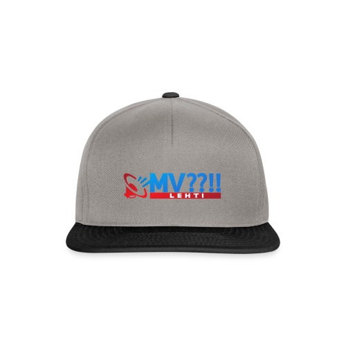 MV LEHTI LOGO - Snapback Cap
