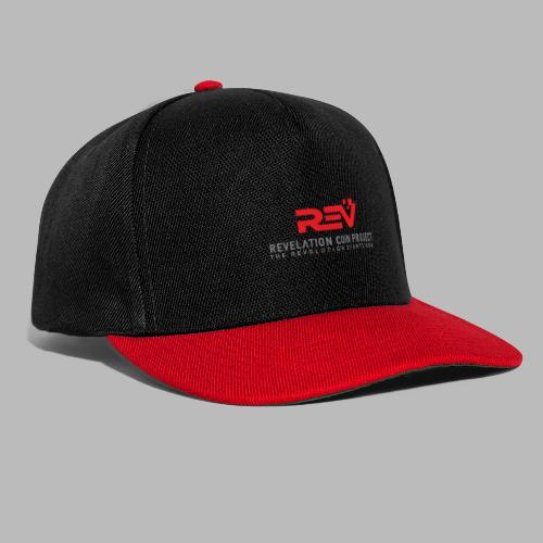 Revelation Logo BIG, single side - Snapback Cap
