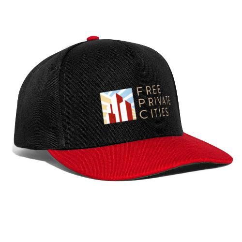 Free Private Cities Logo - Snapback Cap
