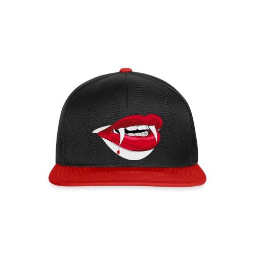 Vampire lips - Snapback Cap