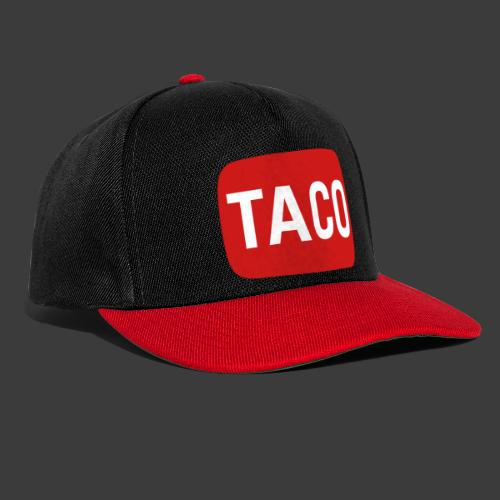 Taco Karsten Youtube Logo 2 - Snapback Cap
