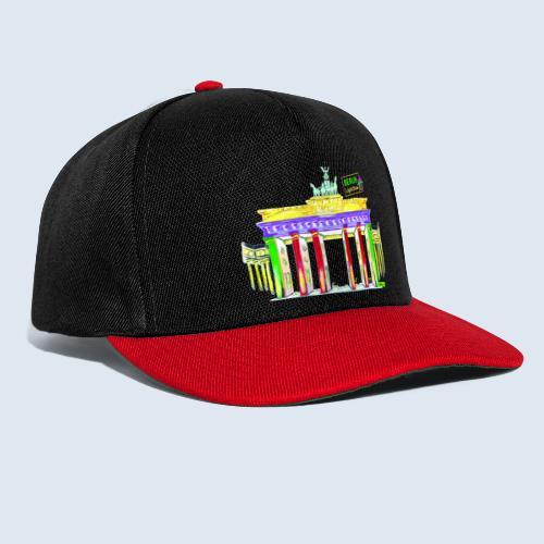 "Berliner ""Brandenburger Tor"" PopArt BLS Design - Snapback Cap"