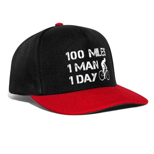100 Miles One Man One Day - Snapback Cap