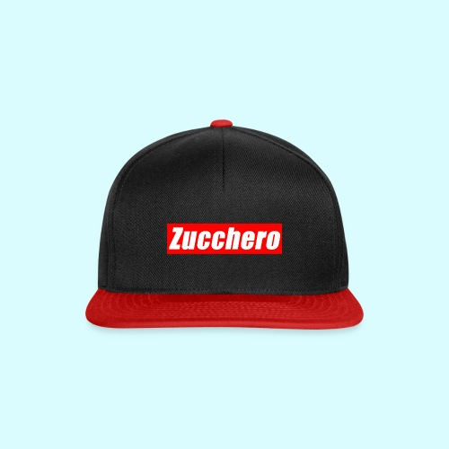 Zucchero Box Red - Snapback Cap