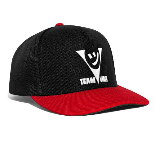 Team Vibing Logo Vit - Snapbackkeps