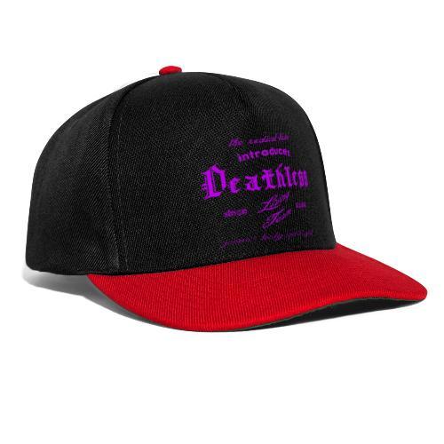 deathless living team violet - Snapback Cap