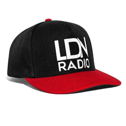 LDN Radio Logo white - Snapback Cap