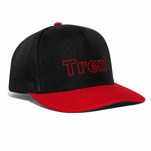 TRENT classic red - Snapback Cap