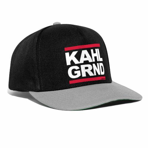 Kahlgründer KAHL GRND - WEIß/ROT - Snapback Cap