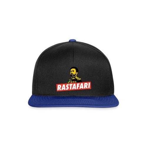 Rastafari - Haile Selassie - HIM - Jah Rastafara - Snapback Cap