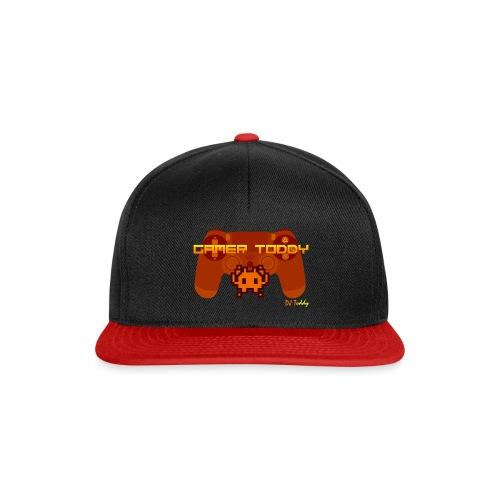 GAMERTODDY (orange) - Snapback Cap