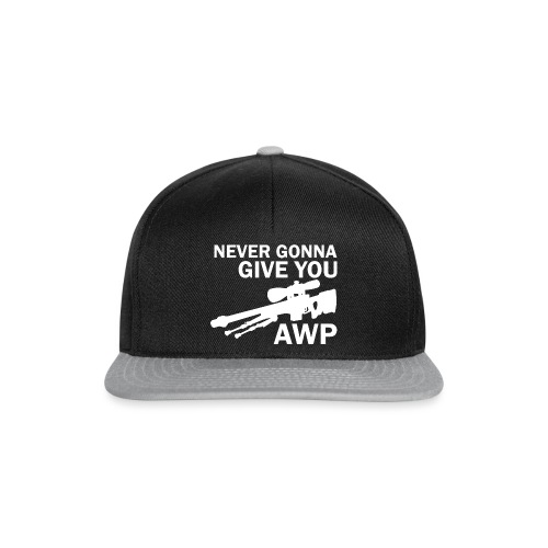 Never gonna give you AWP - Snapback Cap