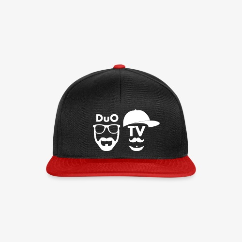 DuO TV Memes (white) - Snapback Cap
