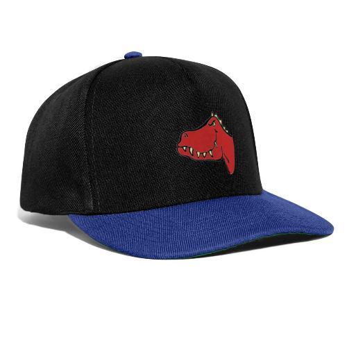 T Rex, Red Dragon - Snapback Cap