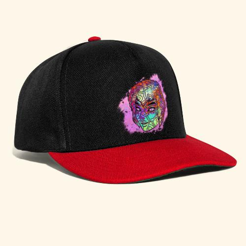 PS Colorful Face - Snapback Cap