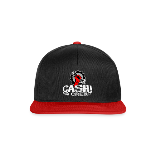 Official Cash! No Credit Merch - Snapback Cap
