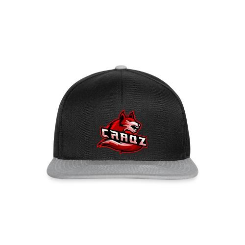 Craqz logo - Snapback Cap