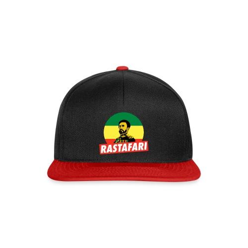 Haile Selassie - Emperor of Ethiopia - Rastafari - Snapback Cap