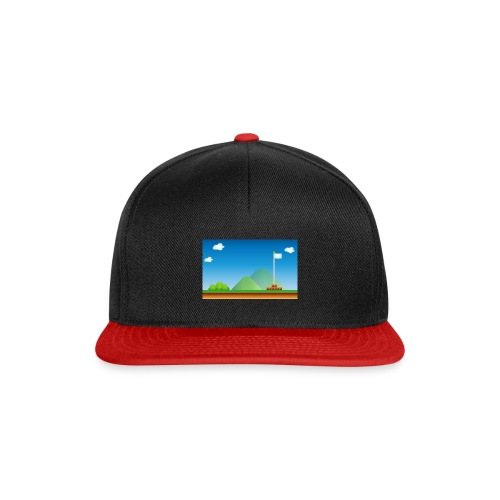 mario game retro style - Snapback Cap