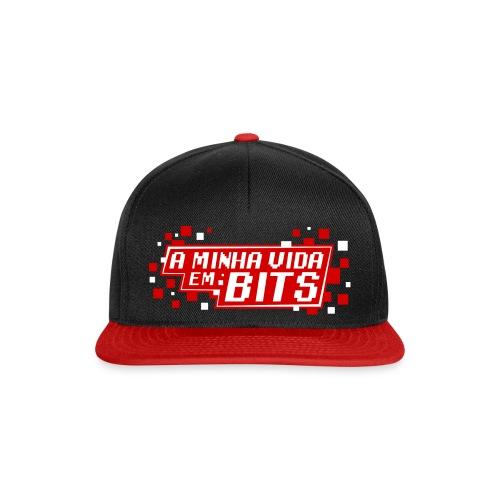 AMinhaVidaemBits Logo - Snapback Cap
