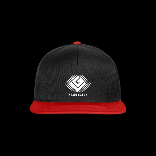 Logo-1 white - Snapback Cap