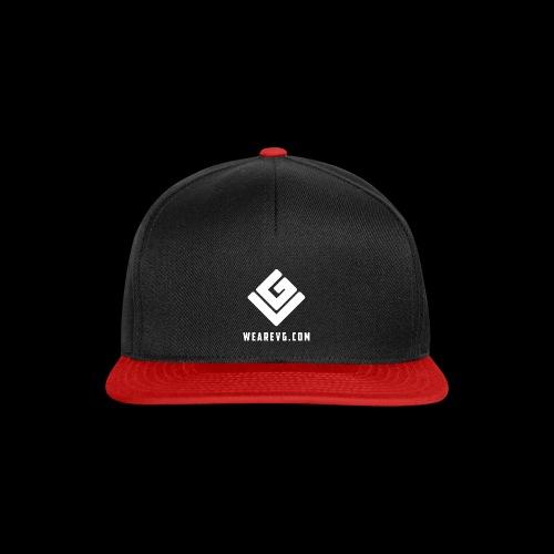 Logo-2 white - Snapback Cap