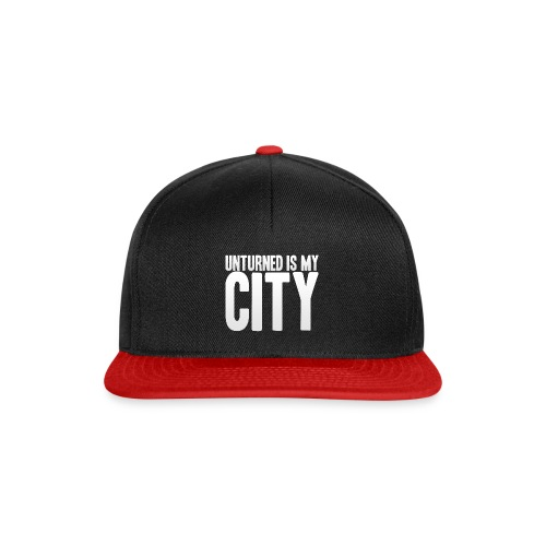 Unturned is my city - Snapback Cap