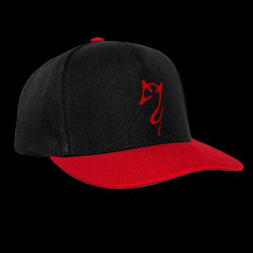 Overscoped logo red - Snapback Cap