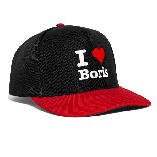 I love Boris - Snapback Cap
