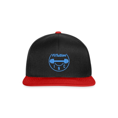 FiTrition Inc - Blue - Snapback Cap