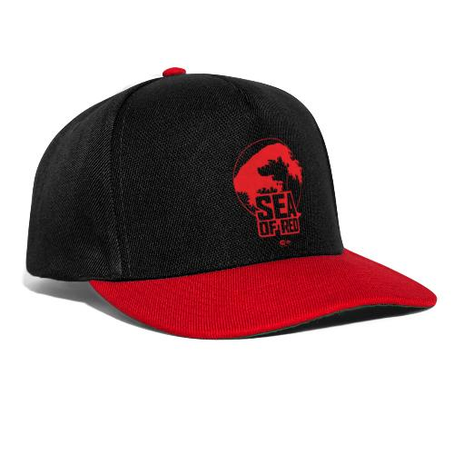 Sea of red logo - red - Snapback Cap