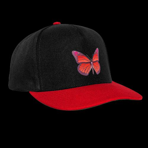 D28 monarch butterfly red lajarindream 4500px - Gorra Snapback