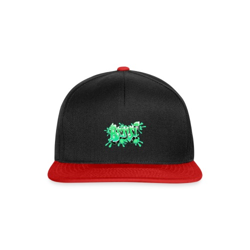 Graffiti Name BENJI GREEN - Snapback Cap