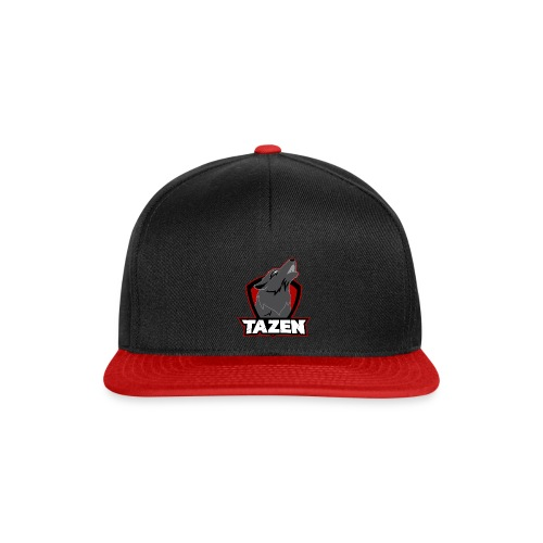 TazenOfficial Rød - Snapback Cap