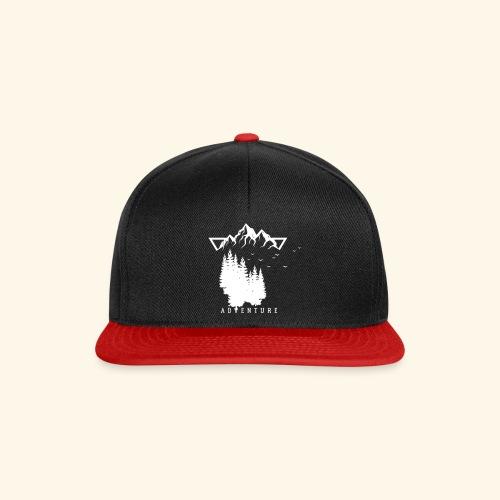 Geometrische Natur 12 - Snapback Cap