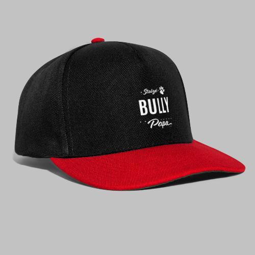 Stolzer Bully Papa - Pfote - Snapback Cap