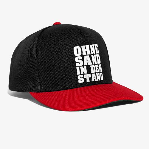 OHNE SAND IN DEN STAND 4 - Snapback Cap