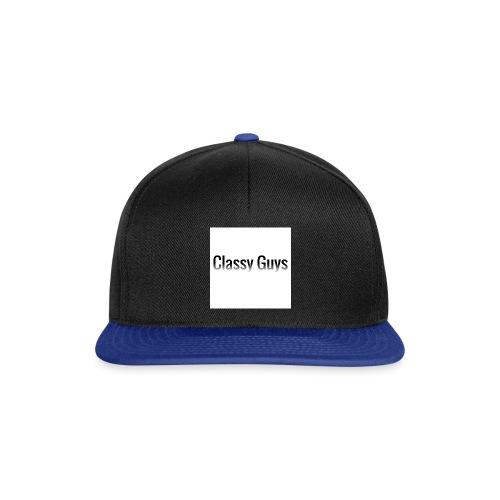 Classy Guys Simple Name - Snapback Cap