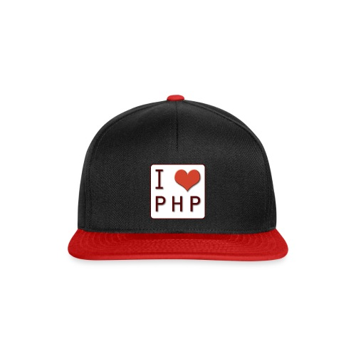I LOVE PHP - Snapback cap