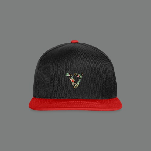 VEXOHH 2d flowery - Snapback Cap