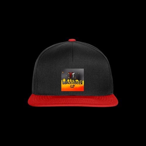 Waschbeer Design 2# Mit Flammen - Snapback Cap