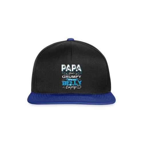 PAPA GETS GRUMPY... - Snapback Cap