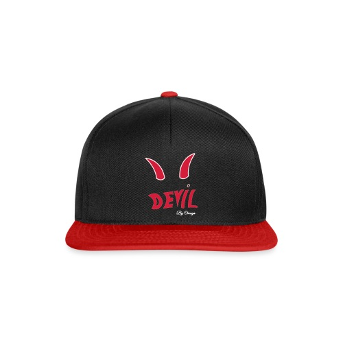 Collection devil by oméga - Casquette snapback