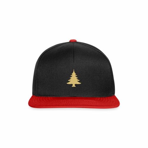 Weihnachtsbaum Christmas Tree Gold - Snapbackkeps