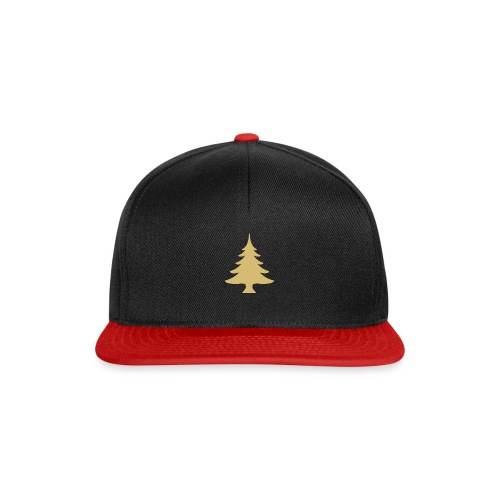 Weihnachtsbaum Christmas Tree Gold - Casquette snapback